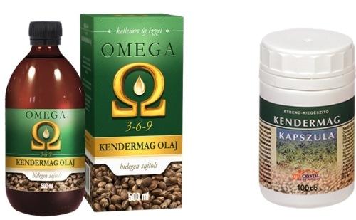 Omega Kendermagolaj